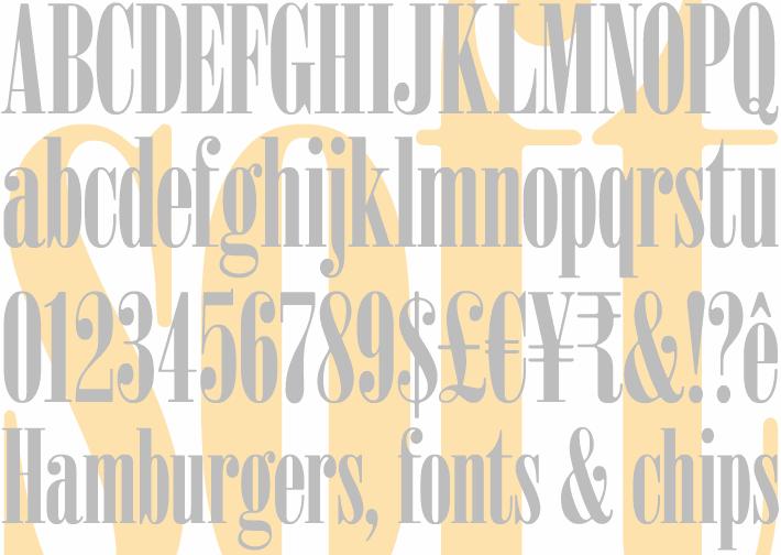 Image for Sardonyx font