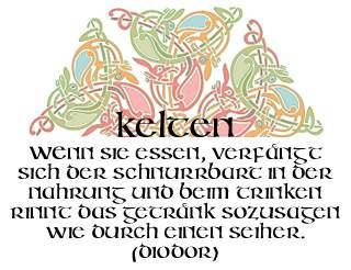 Irish Unci Alphabet font by Manfred Klein