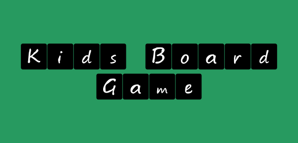 Image for Kids board game font