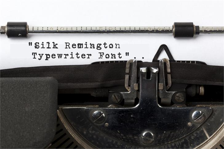 Image for Silk RemingtonSBold font