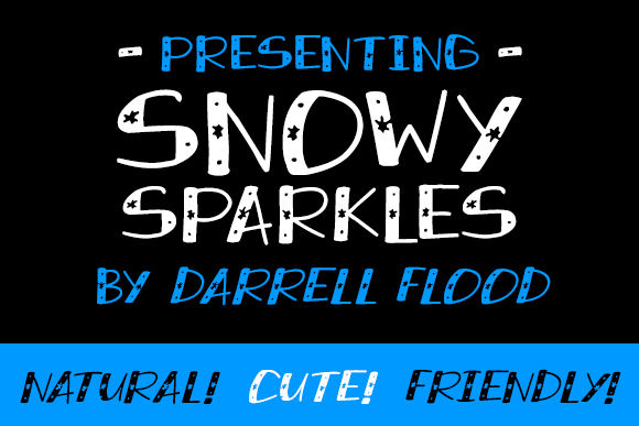 Image for Snowy Sparkles font