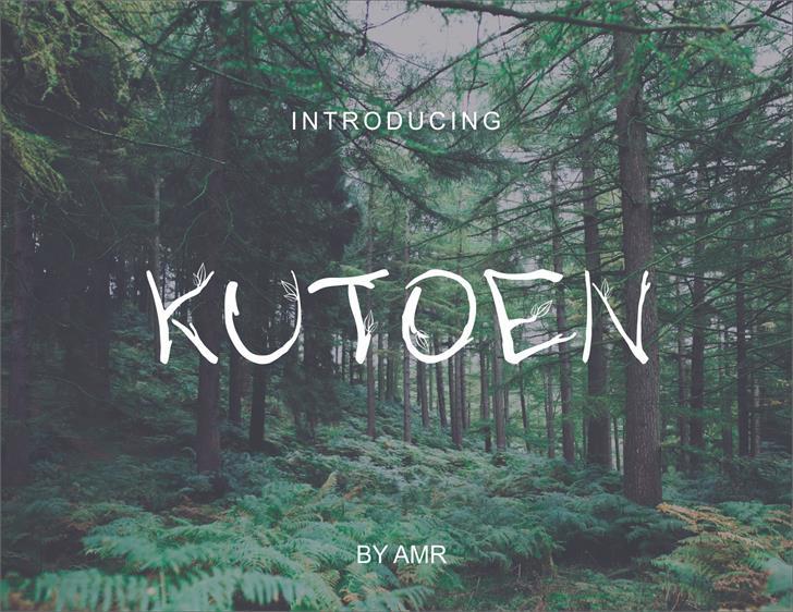 Image for kutoen font
