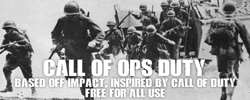 Call Of Ops Duty font by NAL