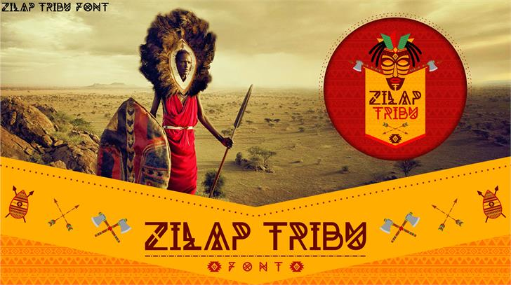 Image for Zilap Tribu font