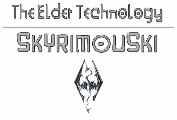 Image for Skyrimouski font