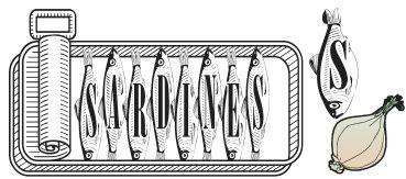 Image for Sardines font