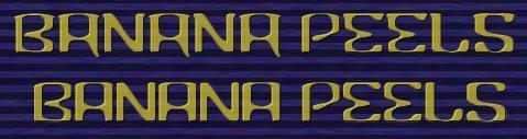 Image for Banana font