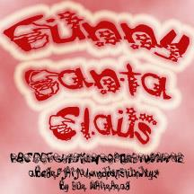 Image for Funny Santa Claus font