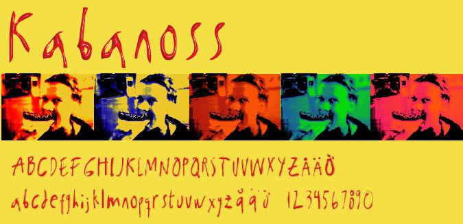 Image for Kabanoss font