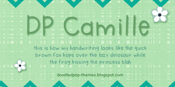 Image for DPCamille font