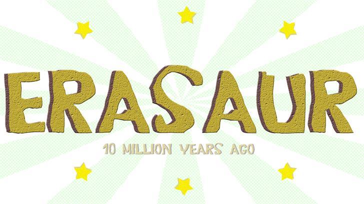Image for Erasaur font
