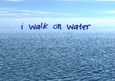 Image for IWalkOnWater font
