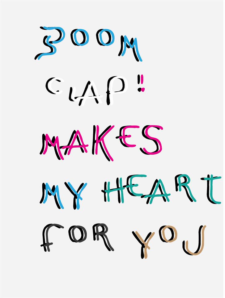 Image for LA boomerang font