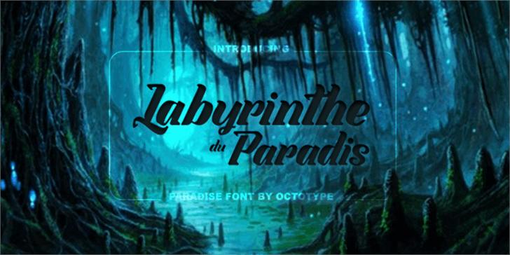 Image for Labyrinthe du Paradis font