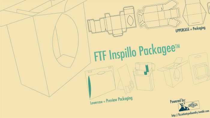 FTF Inspillo Packagee™ font by Fizzetica TypeFoundry Indonesia
