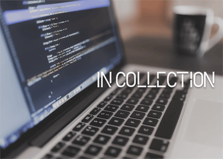 In Collection font by Font Monger