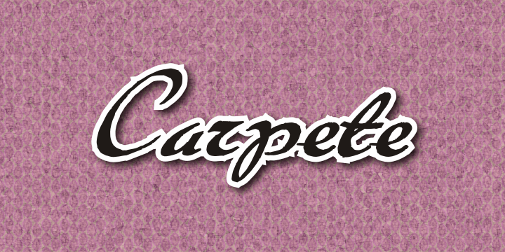 Image for Carpete font