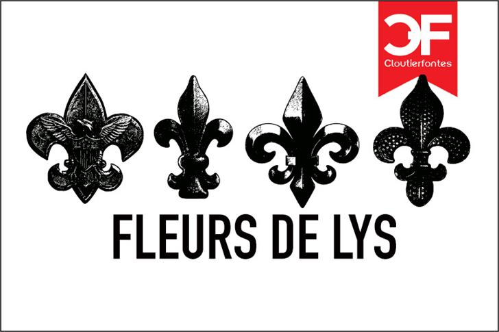 Image for Fleur de Lys Regular font