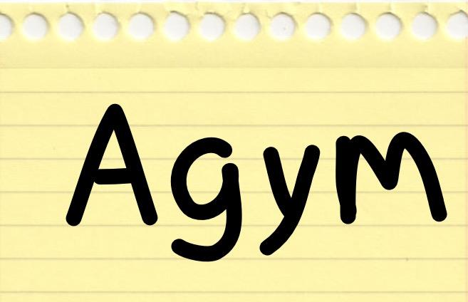 Image for Agym font