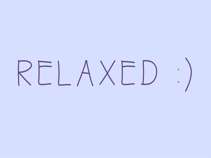 Image for dochi relaxed font