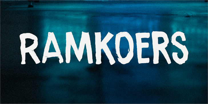 Image for Ramkoers DEMO font