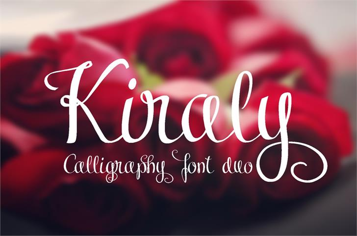 Image for Kiraly font