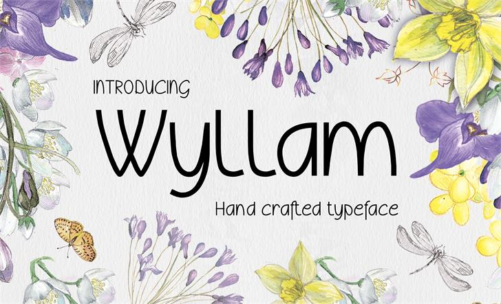 Image for Wyllam font