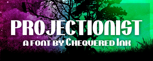 Image for Projectionist font