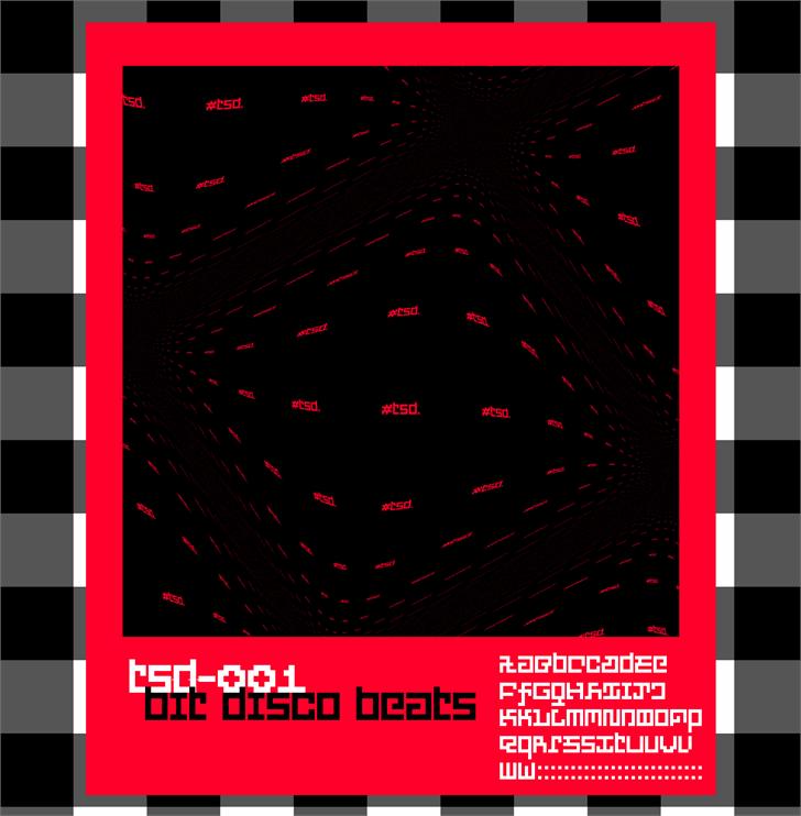 PXFXDisco font by Tusoud