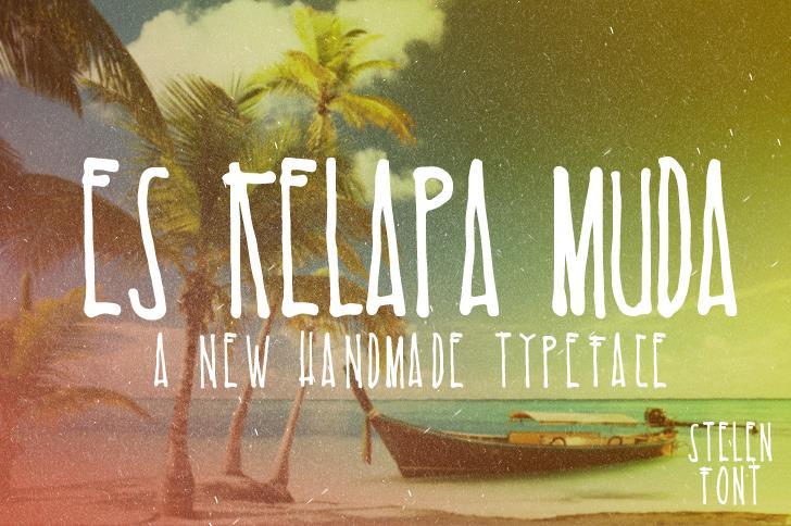 Image for Es Kelapa Muda font