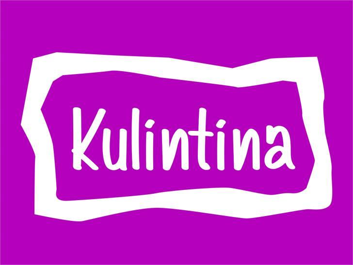 Image for Kulintina font
