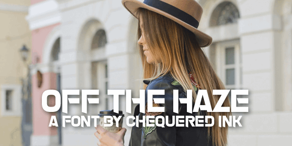 Image for Off The Haze font