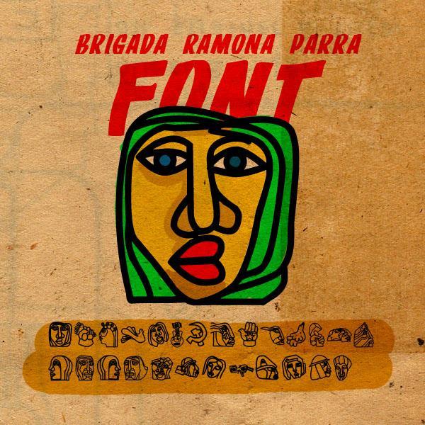 Image for BRIGADA RAMONA PARRA font