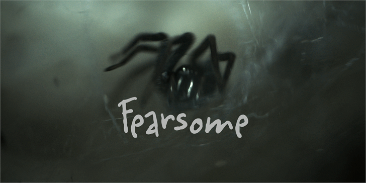 Fearsome DEMO font by David Kerkhoff