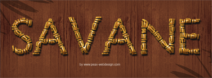 Image for PWSavane font