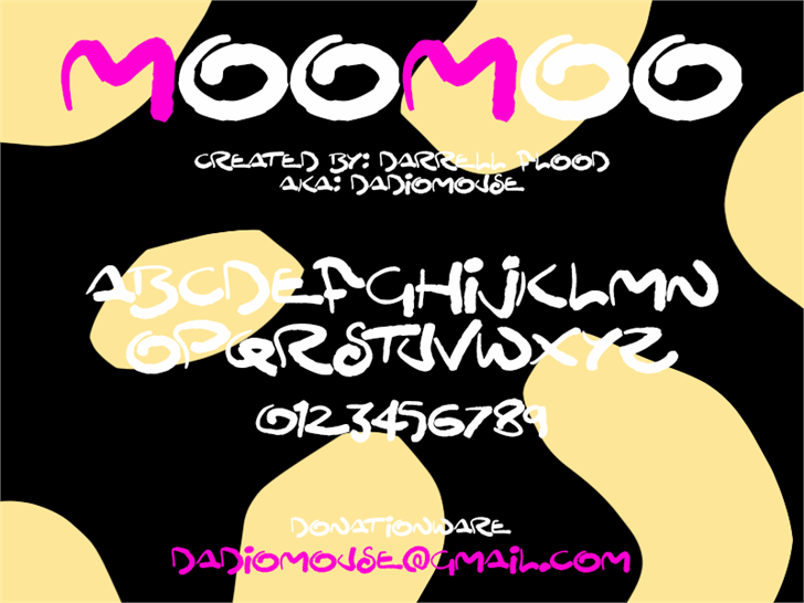 Image for MooMoo font