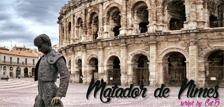 Image for Matador de Nimes font