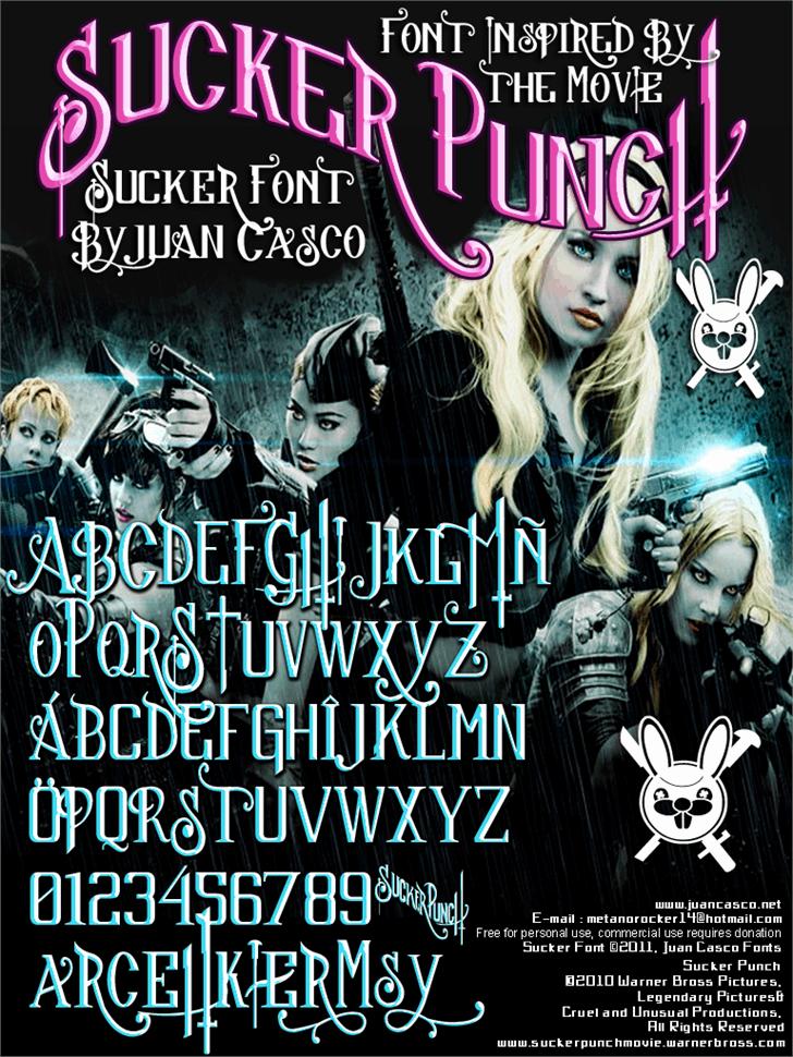 Image for Sucker Font