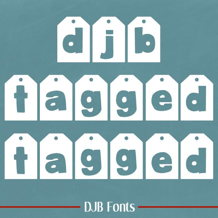 Image for DJB TAGGED font