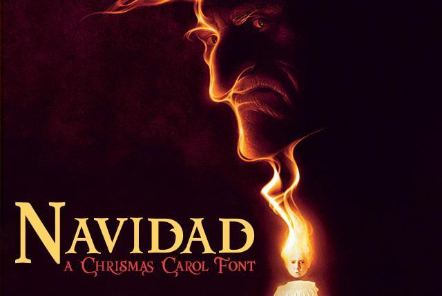Image for Navidad font