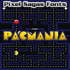 Pacmania font by Pixel Sagas