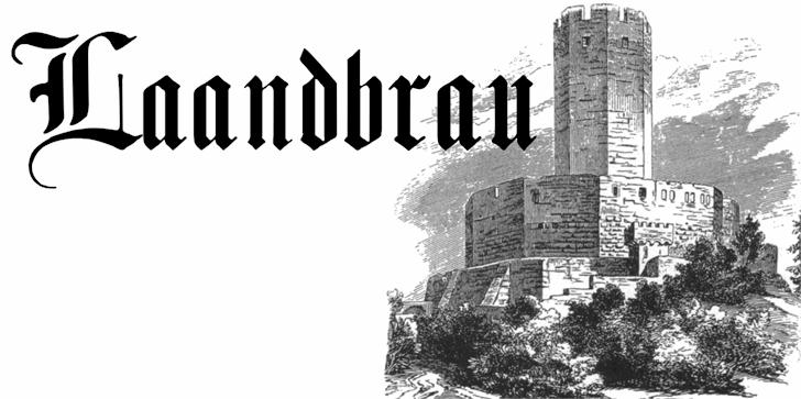 Image for Laandbrau font