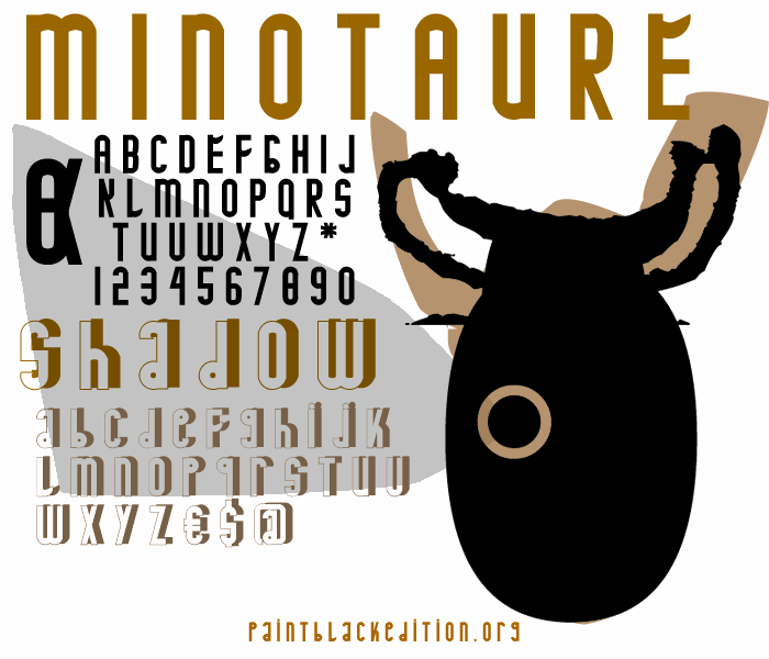 Image for MINOTAURE font