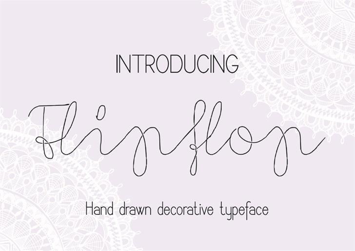 Image for Flypflop font