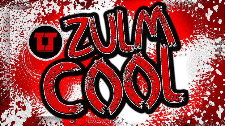 Zulm Cool font by LJ Design Studios