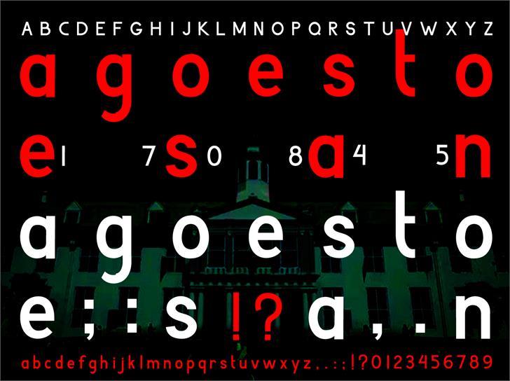 Image for Agoestoesan font