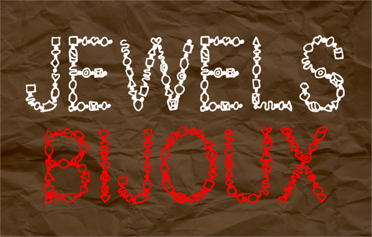 Image for Jewels font