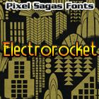 Image for Electrorocket font