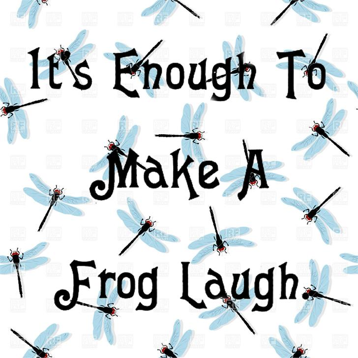 Image for Laughing Frog font