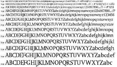 Image for OgiRemaSlabserif font